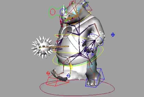 do PROFESSIONAL Rigging in Autodesk Maya