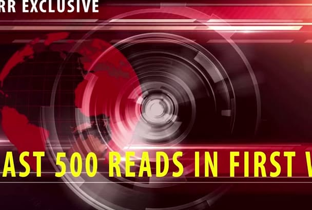 viral Press Release 500 plus read 1st week