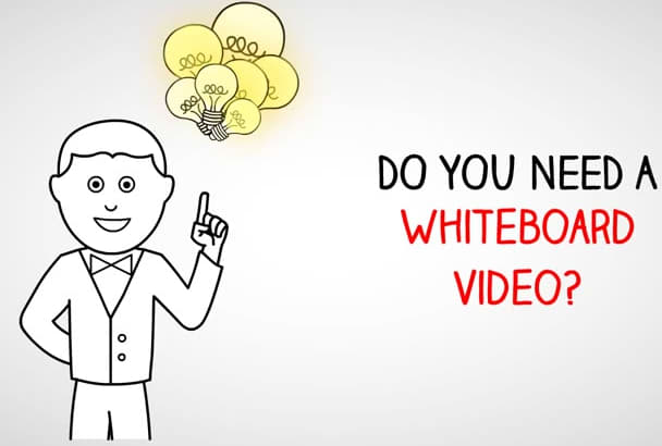 create an eye catching whiteboard animation