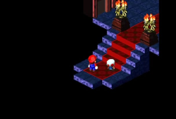 write your message on Super Mario RPG