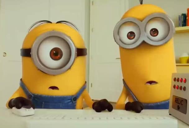 make minion googling your company,business or product