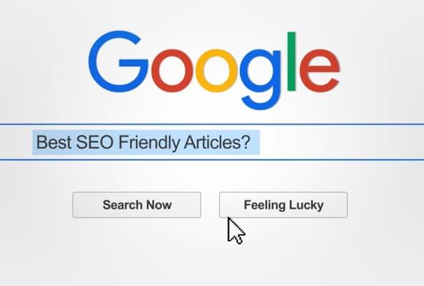 write a SEO friendly article