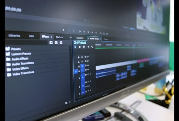 do Professional Video Editing and Video Production