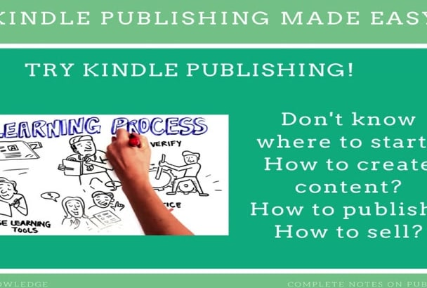 send complete Kindle publishing and marketing Notes