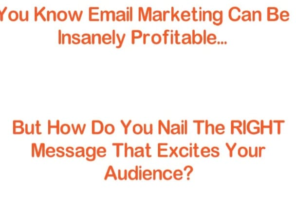 write Your High Conversion EMAILS For Email Marketing
