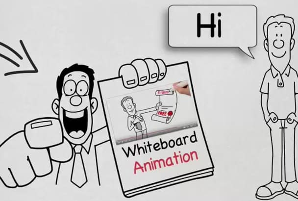 create Superb  new WHITEBOARD animation