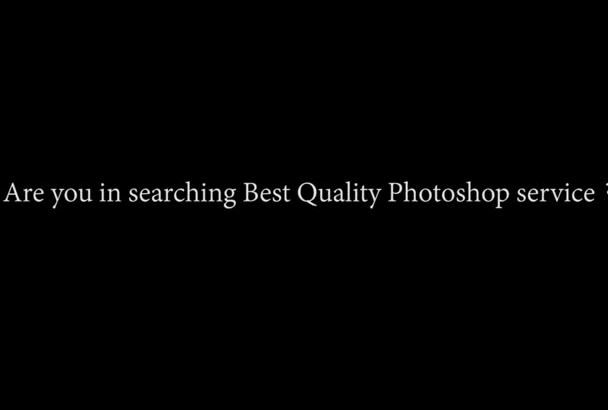 do photo editing, photo retouching, photo Manipulation