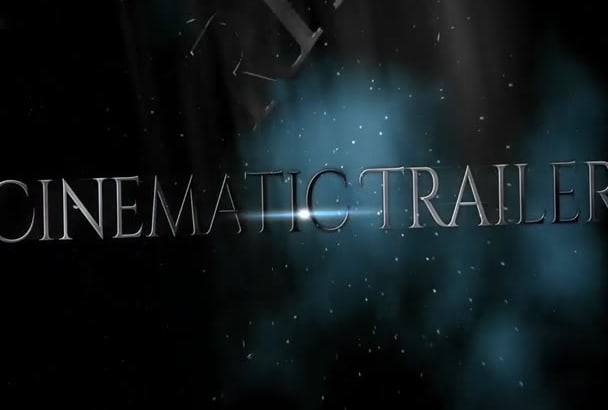 create Epic CINEMATIC trailer Effect Video