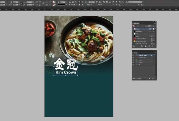 create elegant multipage InDesign document