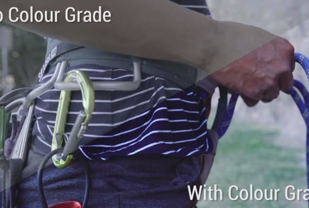 color correct and grade any video