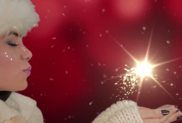 create amazing Christmas video with The Snow White