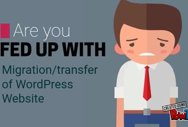 move wordpress site migration in 1hour