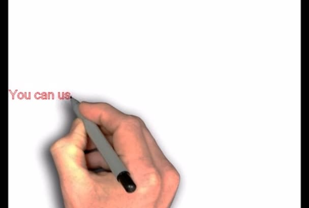 create an amazing whiteboard video