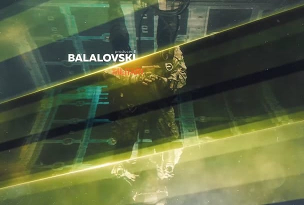 create cinematic military intro