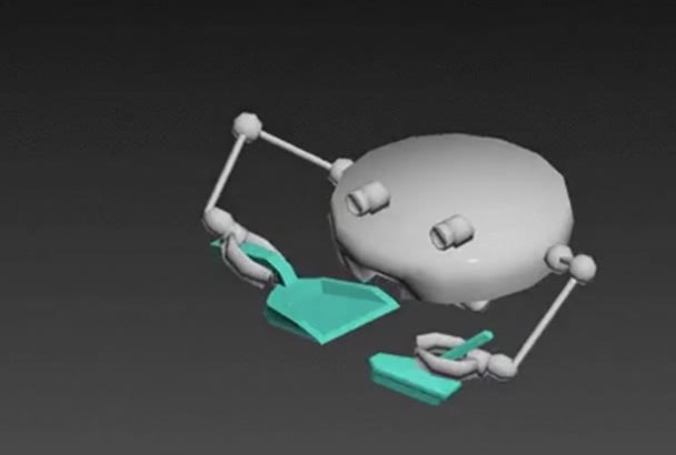 3d model, and animate
