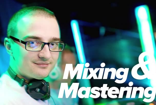 professionally and creatively mix and master your audio