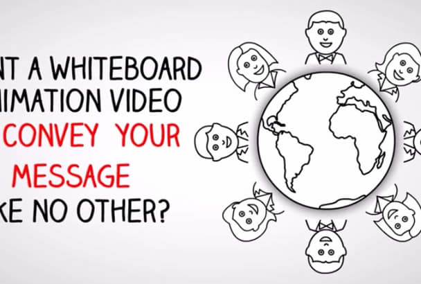 create Whiteboard or Explainer VIDEOS for you