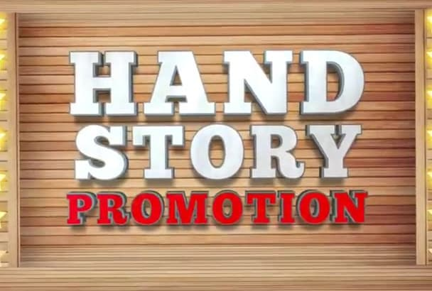 make Amazing Hand Story promotional video