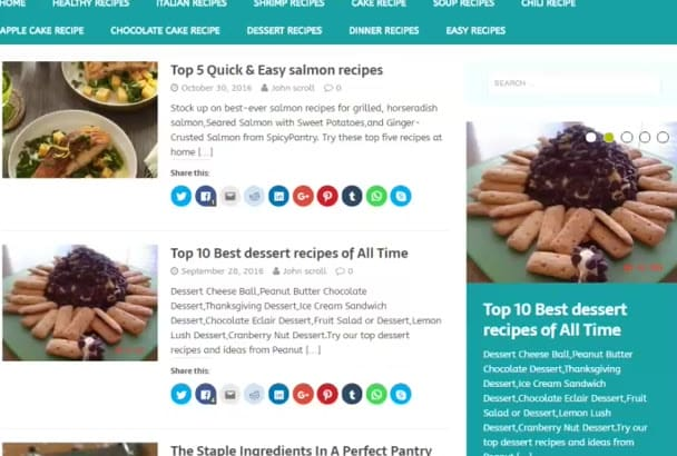 do Guest Post on Food and Cooking Blog