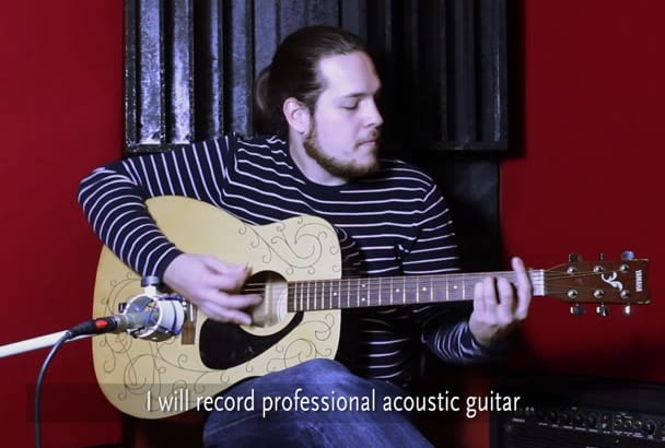 record professional acoustic guitar
