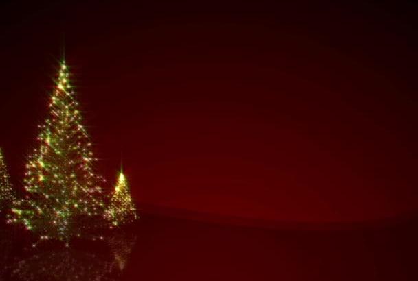 customize this amazing Christmas video ecard