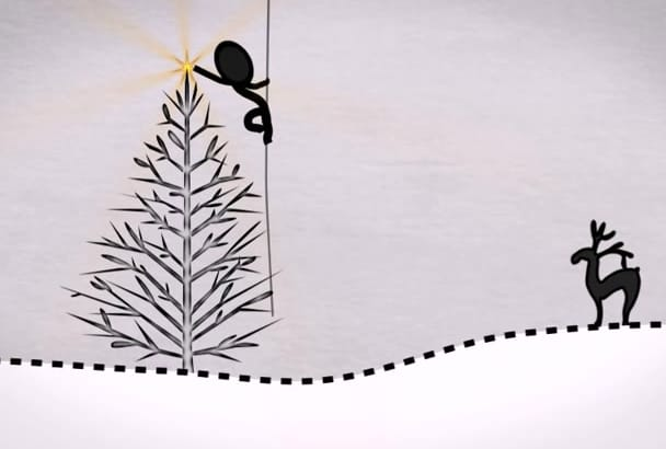 make This Amazing Christmas Greeting Video