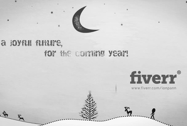 create this fantastic New year Christmas Video for 2017