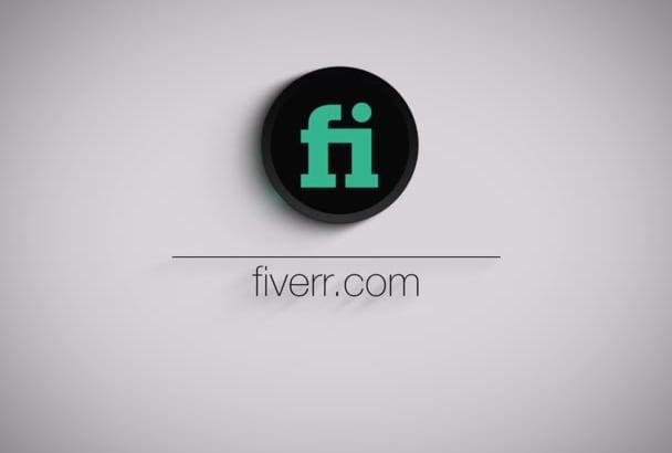 make this minimalistic logo reveal