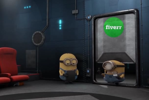 put Your Logo in MINIONS theater with Minions