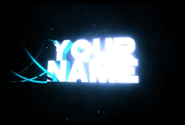 create an epic 3D intro for your YouTube channel