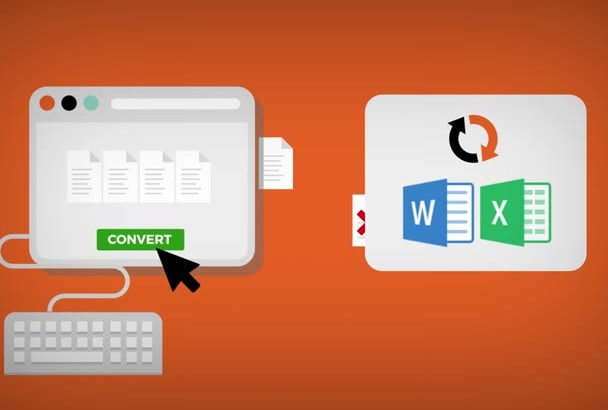 convert your PDFs into Word