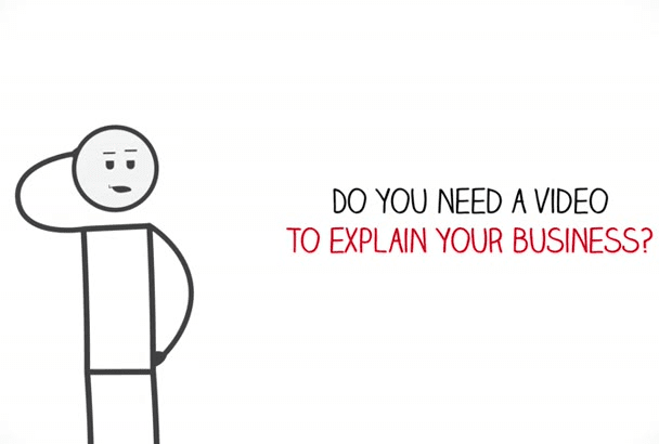 create this stick figure animated explainer video