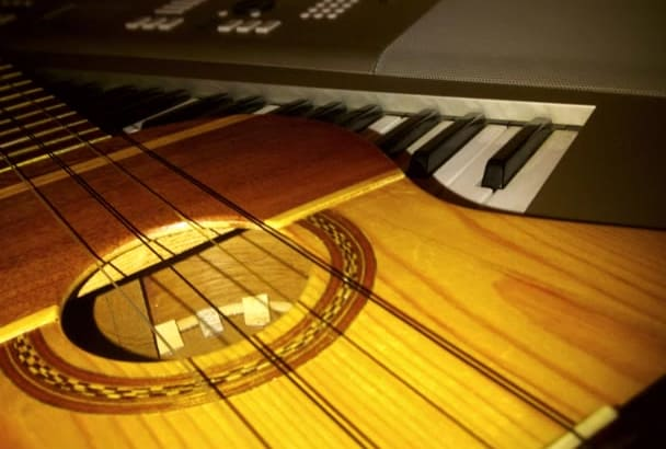 compose acoustic guitar track