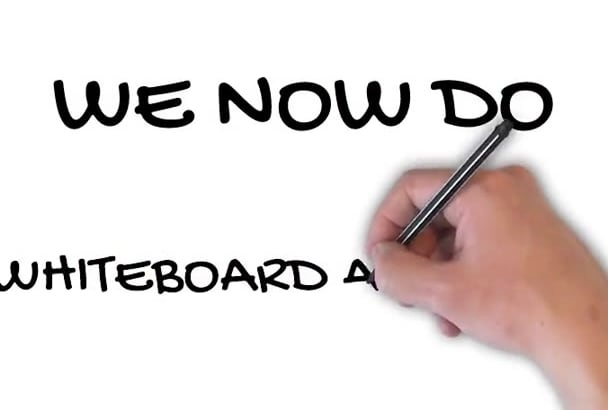 whiteboard animation  Video for you