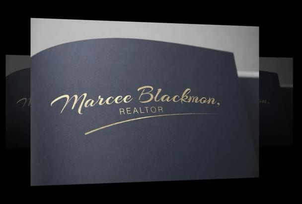 design Modern and Clean image or signarure Logo