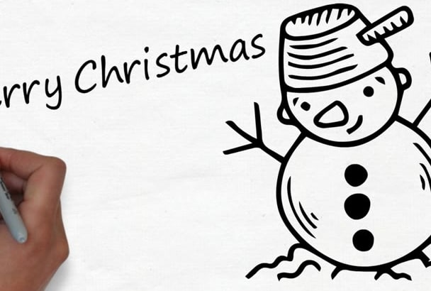 make a Christmas video greeting for your company