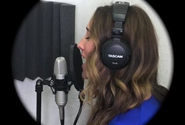 be your strong Female Singer Voice Pop Disney Jazz