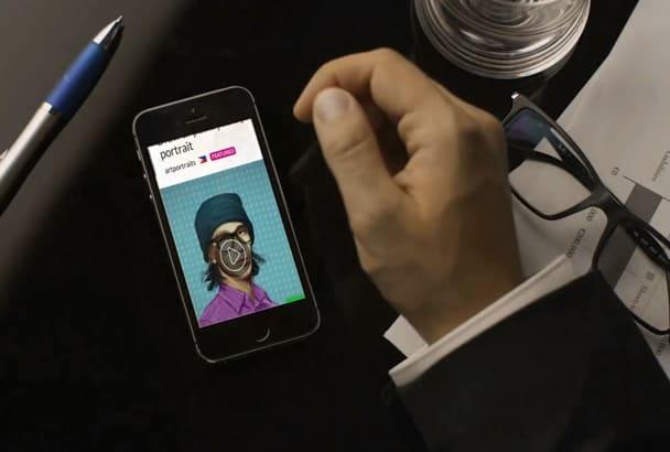 create a Mobile App Presentation Video