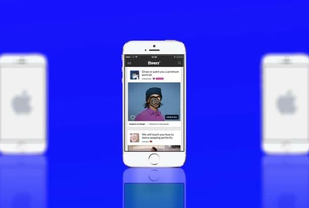 create an Iphone Slideshow