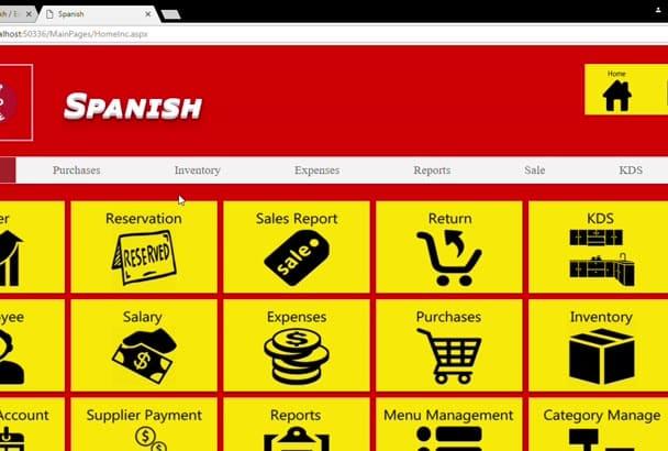 provide you Restaurant Management System