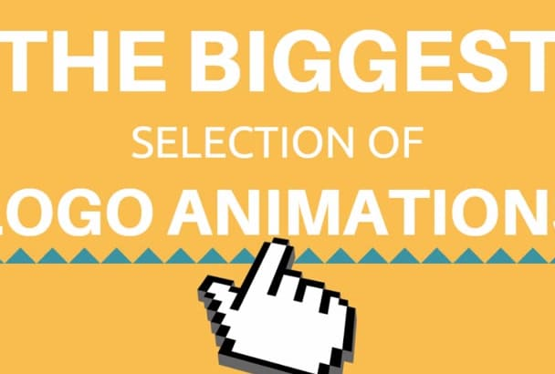 create a logo animation video