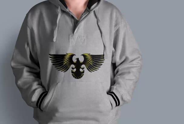 design the creative T shirts Logo Mock up