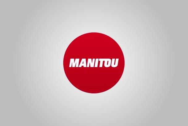 do logo revealing intro for you