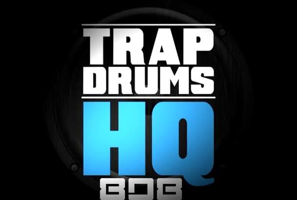 send you HQ 808 Drum samples
