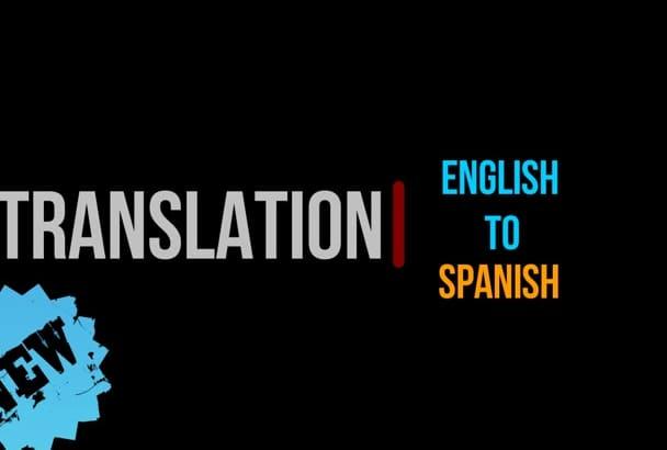 translate english to native spanish