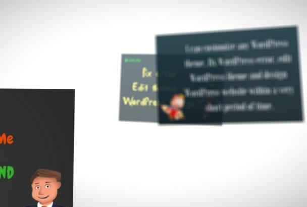 fix Error , Edit Theme , WordPress Design