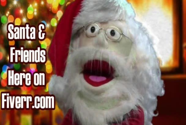 produce a fun Santa Christmas Holiday Video
