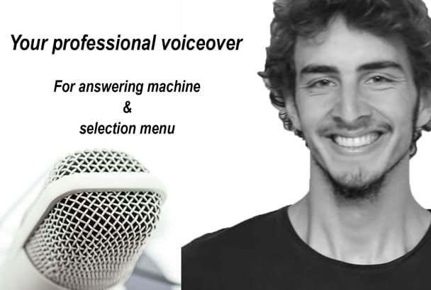 record your answeringmachine and deliver in 2 days