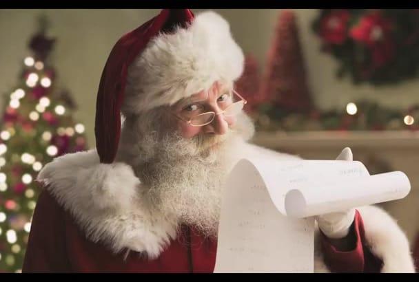 record a Santa Claus Voice Over
