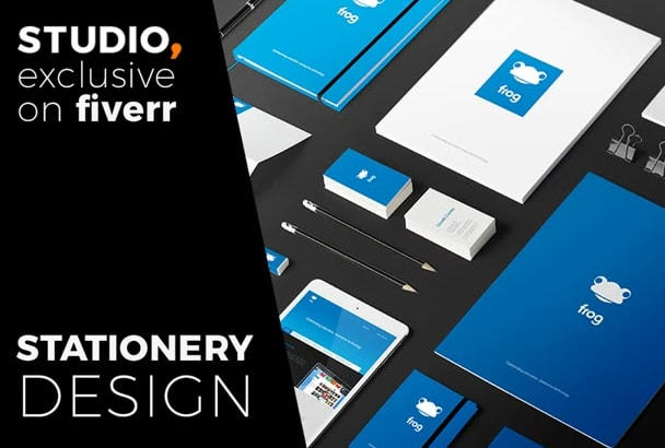 design professional STATIONERY with concept